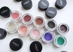 KIKO Cream Crush Lasting Colour Eyeshadow Swatches