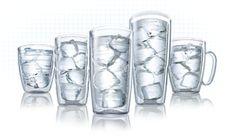 Tervis Tumblers.  My favorite cup!  Hot and cold - dishwasher and microwave safe.  Plus never breaks and has a warranty!  Everything to love.