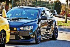 Mitsubishi Lancer Evolution X Tuner Cars, Jdm Cars, Mitsubishi Cars, Slammed Cars, Evo X, Mitsubishi Lancer Evolution, Performance Cars, Japanese Cars, Modified Cars