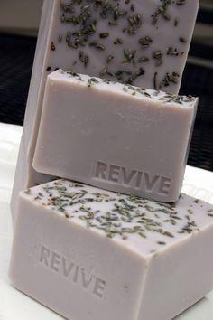 DIY soap, using the lavender in my garden.