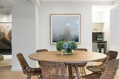 Darling Street, South Yarra, Vic View property details and sold price of Darling Street & other properties in South Yarra, Vic Small Dining, Round Dining Table, Dining Area, A Table, Dining Chairs, Dining Rooms, Interior Inspiration, Beautiful Homes, Living Spaces