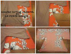 La Porta Magica - Ve a la moda cosiendo tu propia ropa. Blog de costura facil.: Mi nuevo Kimono Oriental...
