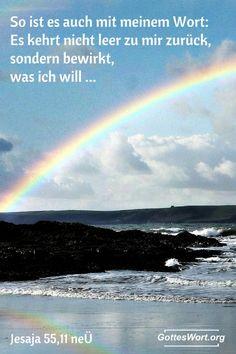 Ja, der Herr spricht!  Jesaja 555,11