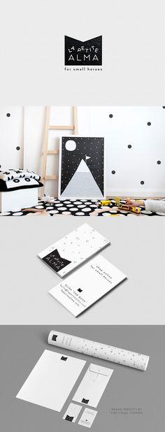 Brand design for La Petite Alma by The Visual Corner studio from Barcelona