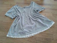 ...alles ausser Socken: T-Shirt aufwerten ... Rompers, Tops, Dresses, Fashion, Vestidos, Moda, Fashion Styles, Romper Clothing, Romper Suit
