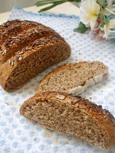 Nem acredito que é saudável!: Pão 100% integral - método Artisan Bread