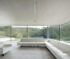 interior view to gardens