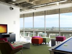 Superieur Office Tour: Inside ShipWorksu0027 Saint Louis Offices / Nehring Design. Break  RoomGame ...