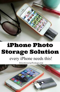 iPhone Photo Storage Solution iXpand review - every iPhone needs this! eclecticallyvintage.com