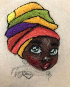 Bir de bitince paylaşırız. Az kaldı. 😍 #keçepano #keçetasarım #keçetablo #yünkeçe #keçeiğneleme #keçeiğnesi #yünkeçeiğneleme #kasnak… Felt Art, Woman Painting, African Women, Doll Patterns, Felting, Wool, Store, Crafts, Handmade
