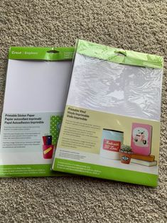 Provo Craft Cricut Standard Blade New Pack of 2 lime green
