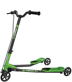 """Y-Volution YFliker F1 Scooter - Green and Black - Yvolution - Toys """"R"""" Us"""