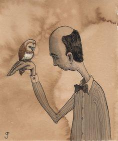 Graham Franciose | A Mutual Respect Giclee Print    renegadecraft.com/austin-holiday-artists