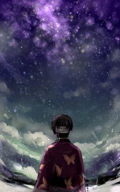 a sky full of star// – Gintama Manga Anime, Manga Art, Anime Art, Sky Anime, Gintama Wallpaper, Anime Galaxy, Sky Full Of Stars, Okikagu, Illustrations
