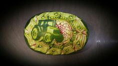 carving fruit carving watermelon birthday gift thai carving inspiration meloun Trutnov dárek inspirace