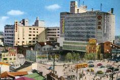 渋谷(昭和27年)▷渋谷駅・東横百貨店(東急東横店) | ジャパンアーカイブズ - Japan Archives