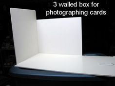Make a Photography box! at The Frugal Crafter Craft Show Ideas, Diy Ideas, The Frugal Crafter, Diy Shows, Stitch Pictures, Paper Crafts, Diy Crafts, General Crafts, Learn To Crochet