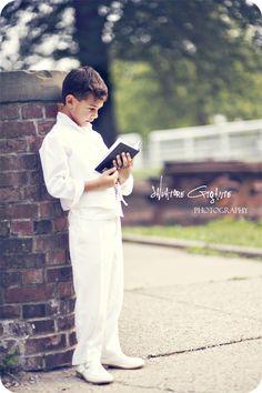 Wyckoff, NJ - First Holy Communion | New Jersey Children's Portrait Photographer