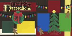 Holiday Decorations Page Kit
