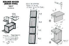 Berliner Hocker - easy DIY Berlin Stool (stackable)