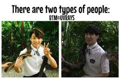 Haha, and all of us are both of them.. hehe~~