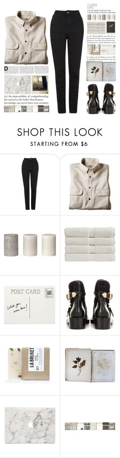 """When you go and I'm alone You live in my imagination"" by one-styles ❤ liked on Polyvore featuring Topshop, Woolrich, Christy, Gap, Club Monaco, Balenciaga, L:A Bruket, éS, FOSSIL and Agent 18"