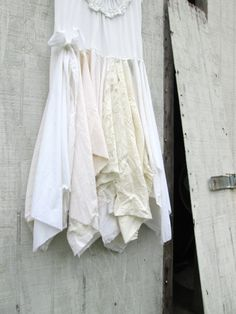 small / medium upcycled clothing / Funky Lace French Dress / Eco Dress by CreoleSha