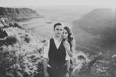 stunning portrait in black and white at the Columbia River Gorge