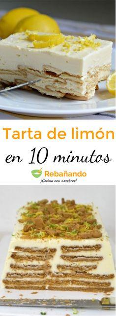 ¡El tiempo ya no es una excusa! Hacer este delicioso postre de limón con galletas María ¡solo te tomará 10 minutos!
