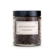 Body Exfoliant - coffee scrub - detox - mint - renew - glass jar - apothecary - 4oz - mother's day by MulleinandSparrow on Etsy https://www.etsy.com/listing/150189582/body-exfoliant-coffee-scrub-detox-mint