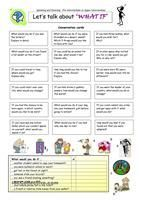 A short grammar-guide and an exercise to practise conditionals (1st, 2nd and 3rd). Greyscale and key included. Hope it's useful for you. Have a great weekend mada :) - ESL worksheets
