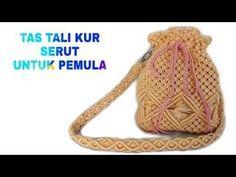 Loom Knitting Patterns, Macrame Patterns, Knitting Tutorials, Free Knitting, Stitch Patterns, Mummy Crafts, Macrame Purse, Bags For Teens, Handmade Handbags