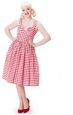 Calamity Jane Dress via Hot Couture