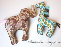 Basic Stuffed Animals – Part 1 -Elephant Stuffed Toy