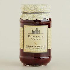 Downton Abbey Collection ~Downton Abbey Christmas Preserves #WorldMarket Holiday Gifts, #DowntonAbbey #spon