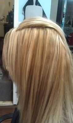 different hair colors with highlights | Blonde hair with highlights and darker shades added with foils | Yelp