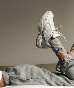 g e o r g i a n a - korean fashion aesthetic outfits minimal minimalist minimalistic soft kfashion ulzzang girl 얼짱 - Mode Shoes, Sneakers Mode, Sneakers Fashion, Sneaker Outfits, Look Fashion, Korean Fashion, Fashion Outfits, Travel Outfits, High Fashion