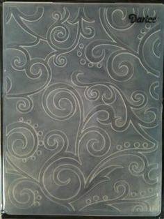 Darice Embossing Folder - Scrolls Background