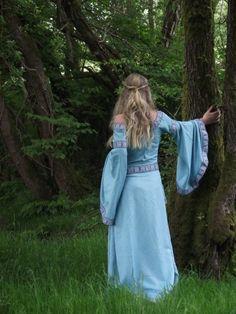 forest maiden, fantasy, medieval