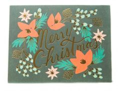 Rifle Paper Co. Wintergreen Christmas Card