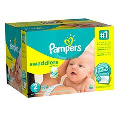 Pampers Swaddlers Disposable Diapers Size 2 204 Count ONE MONTH SUPPLY