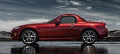 2015 Mazda MX-5 Miata Convertible Sports Car - Hardtop | Mazda USA