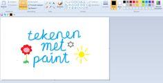 In plaats van kinderen laten kleuren met stiften en kleurpotloden kunnen kinderen ook op een computer/tablet kleuren.