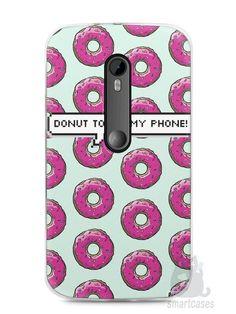 Capa Moto G3 Donut Touch My Phone - SmartCases - Acessórios para celulares e tablets :)