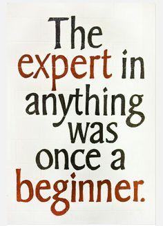 Expert... beginner...