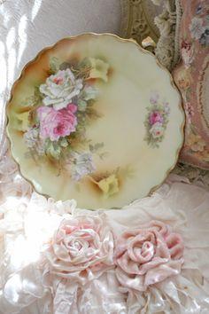 Gorgeous Antique Bavarian Porcelain Plate