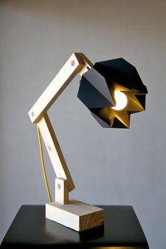Hana lamp by mitsue kido