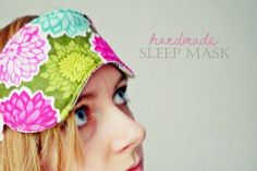 This sleep mask was one of the handmade Christmas gifts I made for family and friends. I thought this one would make a nice first DIY tu...