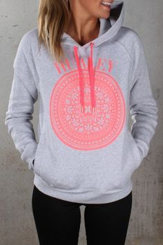 Hurley - Vintage Pop Fleece Heather White Hyper Punch $69.99 Shop ll http://www.jeanjail.com.au/hurley-vintage-pop-fleece-heather-white-hyper-punch-1.html