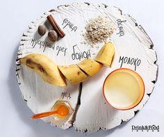 Овсяно-банановое смузи. Рецепт полезного коктейля на завтрак